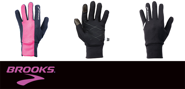 guantes running brooks